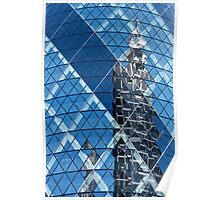 Cheese Grater in Gherkin Poster