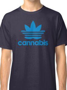 Cannabis Adidas Spoof Classic T-Shirt