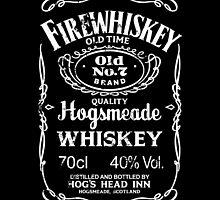 Hogsmeade's Old No.7 Brand Firewhiskey by huckblade