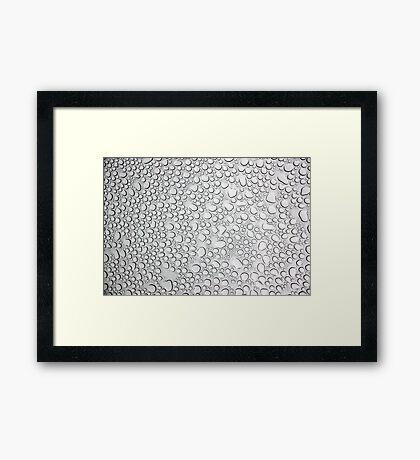 Sunroof Raindrops Framed Print