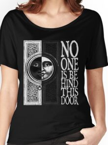 House of No One (White) Women's Relaxed Fit T-Shirt