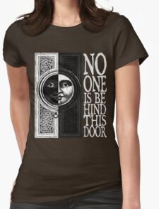 House of No One (White) Womens Fitted T-Shirt