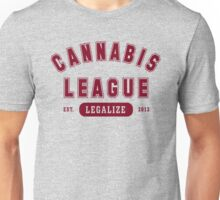 Cannabis League  Unisex T-Shirt