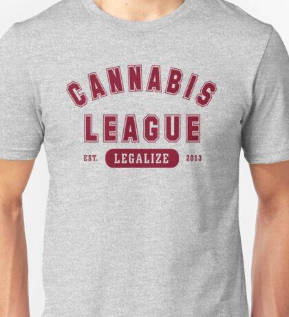 Cannabis League  Unisex T-Shirt