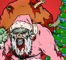 Zombie Claus Sticker