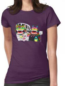 Totoro Kawai Womens Fitted T-Shirt