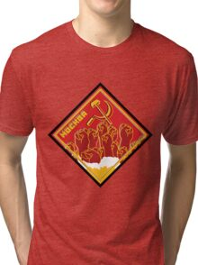 MOCKBA (Moscow) Tri-blend T-Shirt