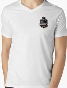 Maverick Masterminds Mens V-Neck T-Shirt