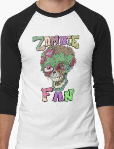 Zombie Fan Men's Baseball ¾ T-Shirt