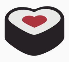 I Love Sushi Heart by Style-O-Mat