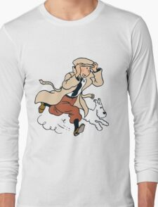 tintin Long Sleeve T-Shirt