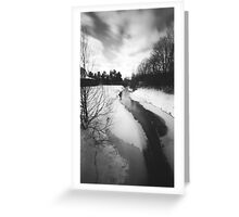 Pinhole Study: Winter in Waterloo No. 1 Greeting Card