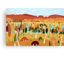 Whimsical Autumn Canvas Print
