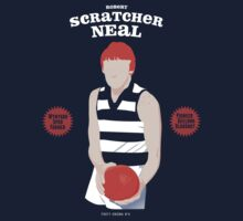 "Robert ""Scratcher"" Neal, Geelong by Chris Rees"