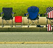 Catonsville Parade Chair Lineup by John Shepard