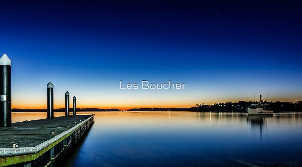 Towards the Horizon... by Les Boucher