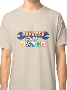 Advance Wars Logo with Factions Classic T-Shirt