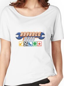 Advance Wars Logo with Factions Women's Relaxed Fit T-Shirt
