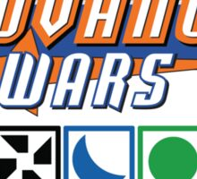 Advance Wars Logo with Factions Sticker
