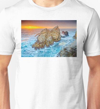 Pacific Ocean Oregon Coast HDR Unisex T-Shirt