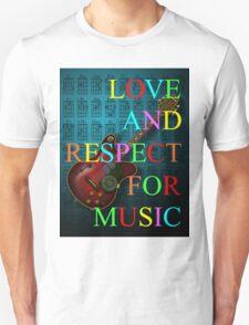 KuuMa Guitar Unisex T-Shirt