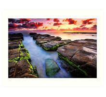Soldiers Beach Sunrise # 2 Art Print