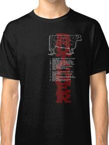 Butcher Cow Classic T-Shirt