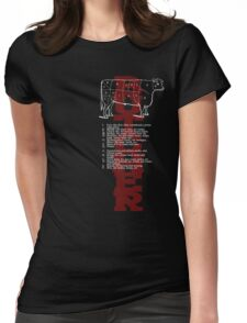 Butcher Cow Womens Fitted T-Shirt