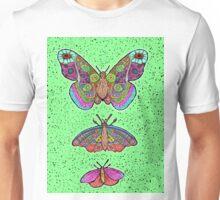Moths only butterflies Unisex T-Shirt