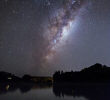 Milky Way Reflections by NCHANT