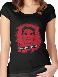 Follow The Code Women's Fitted Scoop T-Shirt