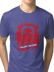 Follow The Code Tri-blend T-Shirt
