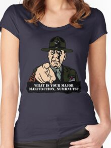 Gny. Sgt. Hartman Women's Fitted Scoop T-Shirt