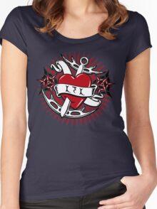 Klingon Tattoo Women's Fitted Scoop T-Shirt