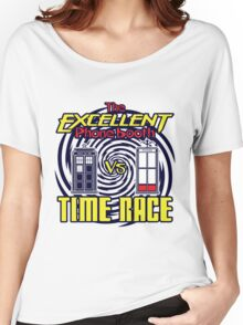 The Excellent Phone Booth Time Race Women's Relaxed Fit T-Shirt