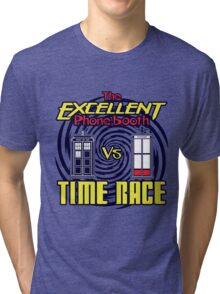 The Excellent Phone Booth Time Race Tri-blend T-Shirt