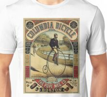 Vintage poster - Columbia Bicycle Unisex T-Shirt