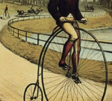 Vintage poster - Columbia Bicycle Sticker