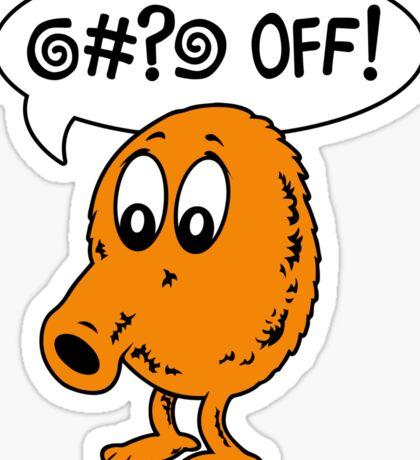 Q-Bert - @#?@ Off! Sticker