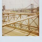 On the Brooklyn Bridge by smilyjay