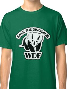 Save The Dinosaur Classic T-Shirt