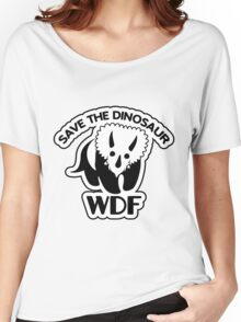 Save The Dinosaur Women's Relaxed Fit T-Shirt