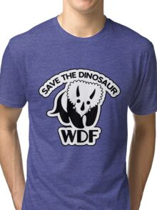 Save The Dinosaur Tri-blend T-Shirt