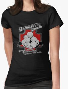 Crowley's Muffins Womens Fitted T-Shirt