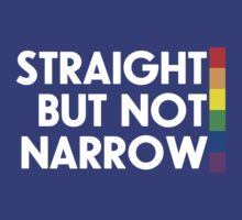 Straight but not narrow (darker shirts) by northstardesign