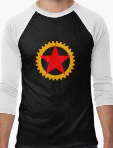 Star and cog Men's Baseball ¾ T-Shirt