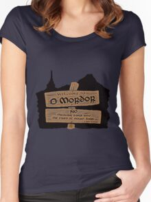 Welcome To Mordor Women's Fitted Scoop T-Shirt