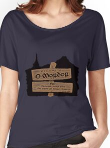 Welcome To Mordor Women's Relaxed Fit T-Shirt