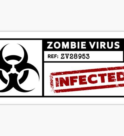 Zombie Virus - Infected Sticker