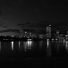 high rise leaking light by Brendon Fallon